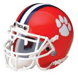 CLEMSON TIGERS NCAA AUTHENTIC MINI 1/4 SIZE HELMET by Schutt