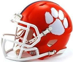 Clemson Tigers Riddell NCAA College Football Team Speed Mini