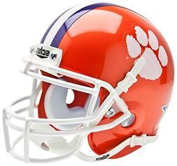 CLEMSON TIGERS NCAA Schutt XP Authentic MINI Football Helmet