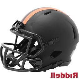 Cleveland Browns Alt Eclipse Riddell Speed Mini Helmet - New