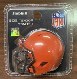 Cleveland Browns Riddell Pocket Pro Mini Football Helmet - N