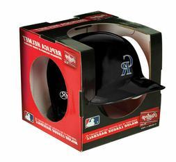 Colorado Rockies MLB Rawlings Mini Replica Baseball Helmet