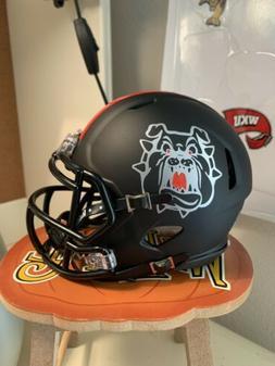 Custom Fresno State Bulldogs Speed Mini Helmet