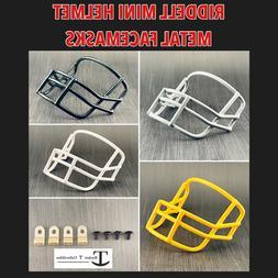 Riddell Custom Metal Mini Helmet Facemask Replacement Throwb