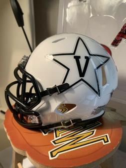 Custom Vanderbilt Commodores Speed Mini Helmet