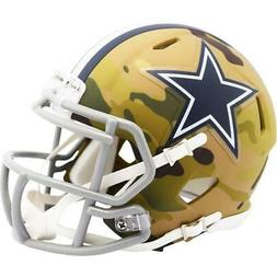 DALLAS COWBOYS Alt Camo Riddell Speed Mini Helmet Brand New