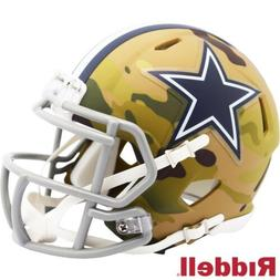 Dallas Cowboys Alt Camo Riddell Speed Mini Helmet - New in R