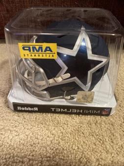 "Dallas Cowboys ""AMP ALTERNATE"" NFL Riddell Speed Mini Footba"
