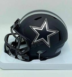 dallas cowboys black blue star eclipse mini