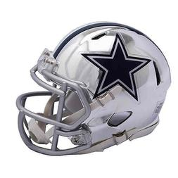 Dallas Cowboys Mini Helmet Riddell NFL Alternate Speed Chrom