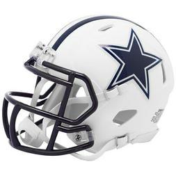 Dallas Cowboys NFL Riddell Flat White Matte Revolution Speed