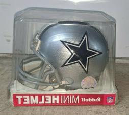 RIDDELL Dallas Cowboys Replica Mini Football Helmet Silver