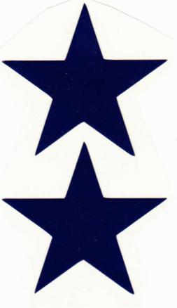 DALLAS COWBOYS T/B MINI HELMET DECAL SET