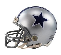 Dallas Cowboys 1964-66 Throwback NFL Riddell Replica Mini He