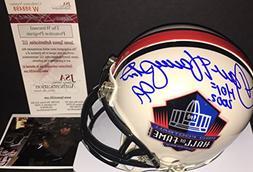Dan Hampton Chicago Bears Autographed Signed Hall of Fame Mi