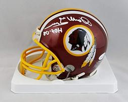 Darrell Green Autographed Washington Redskins Mini Helmet- J