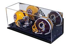 Better Display Cases 2 Mini Football Helmet Display Case  Cl