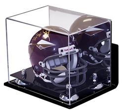 Deluxe Acrylic Mini - Miniature  Football Helmet Display Cas