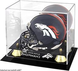 Denver Broncos Golden Classic Mini Helmet Super Bowl 50 Cham