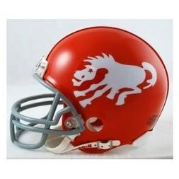 Denver Broncos NFL 1962-65 Throwback Replica Mini Helmet