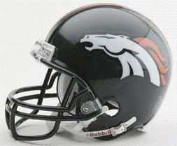 Denver Broncos Riddell Mini Football Helmet