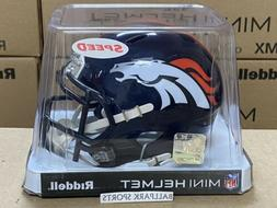 DENVER BRONCOS - Riddell Speed Mini Helmet