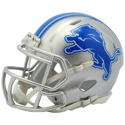 DETROIT LIONS SPEED MINI HELMET RIDDELL NFL FOOTBALL New in