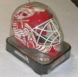 Detroit Red Wings Franklin Sports NHL Mini Goalie Mask Helme