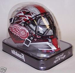 Detroit Red Wings Franklin Sports NHL Mini Goalie Mask Helme