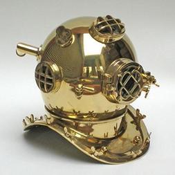 Divers Helmet Mark V Special Edition Brass Plain