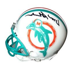 Don Shula Autographed Miami Dolphins  Mini Helmet