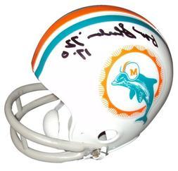 "Don Shula Autographed Miami Dolphins  Mini Helmet w/""1972 17"