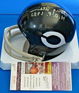 Doug Atkins Autographed Signed Mini Football Helmet Chicago