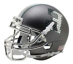 Eastern Michigan Eagles Alternate Gray Chrome Schutt Mini Fo