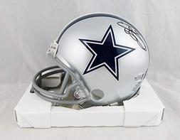 Emmitt Smith Autographed Dallas Cowboys Mini Helmet-Beckett