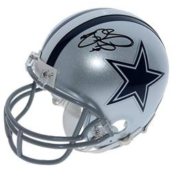 Emmitt Smith Dallas Cowboys Autographed Signed Riddell Mini