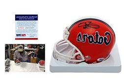 Emmitt Smith Signed Florida Gators Mini Helmet w/ Photo - PS