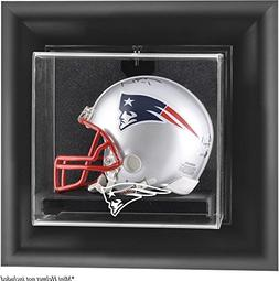 New England Patriots Framed Wall Mounted Logo Mini Helmet Di