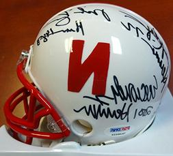 ERIC CROUCH, MIKE ROZIER & JOHNNY RODGERS AUTOGRAPHED NEBRAS
