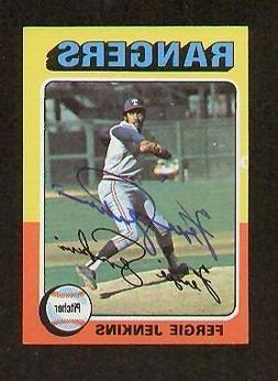 Fergie Jenkins signed autographed Topps 1975 Mini Card