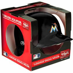 FLORIDA MIAMI MARLINS RAWLINGS MINI BATTING BASEBALL HELMET