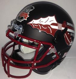 Florida State Seminoles Schutt Authentic Mini Helmet BLACK L