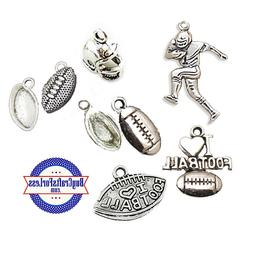Football CHARMS, 7 STYLES, Charms for Football Fans, Sports