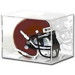 Football Mini Helmet Acrylic Display Cube