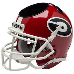 georgia bulldogs mini helmet desk caddy