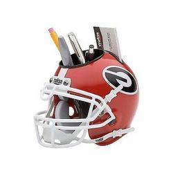 Georgia Bulldogs NCAA Football Schutt Mini Helmet Desk Caddy