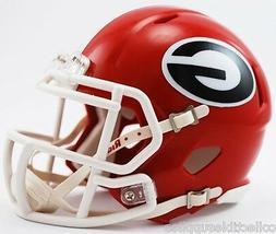 Georgia Bulldogs NCAA Revolution Speed Mini Football Helmet