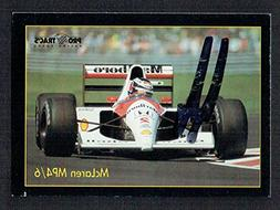 Gerhard Berger signed autograph auto 1991 F1 Pro Trac's Raci
