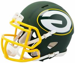 Green Bay Packers Amp Alternate Riddell Speed Mini Helmet Ne