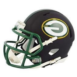 Riddell Green Bay Packers Black Matte Alternate Speed Mini F